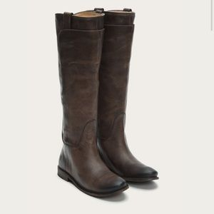 EUC Frye Paige Tall riding boot extended calf